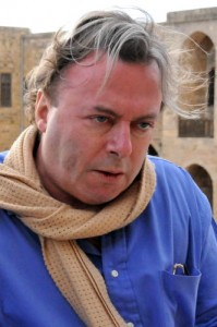 Christopher Hitchens at Beiteddine (Photo by Michael J. Totten)