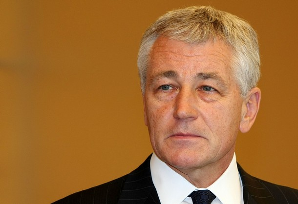 Chuck Hagel Atlantic Council Chairman Photo