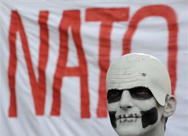 NATO Protestor