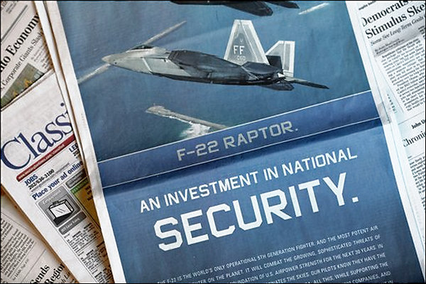 F-22 Raptor Advertising
