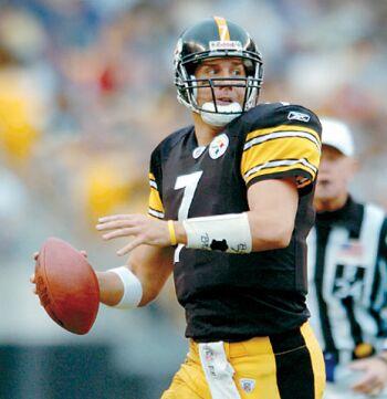 Ben Roethlisberger Steelers Quarterback