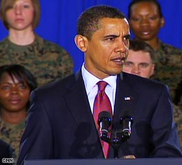Obama Announces Iraq Withdrawal Plans