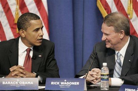 Obama Fires GM CEO Wagoner