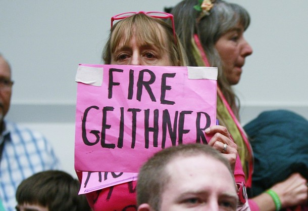 Timothy Geithner: Dead Secretary Walking