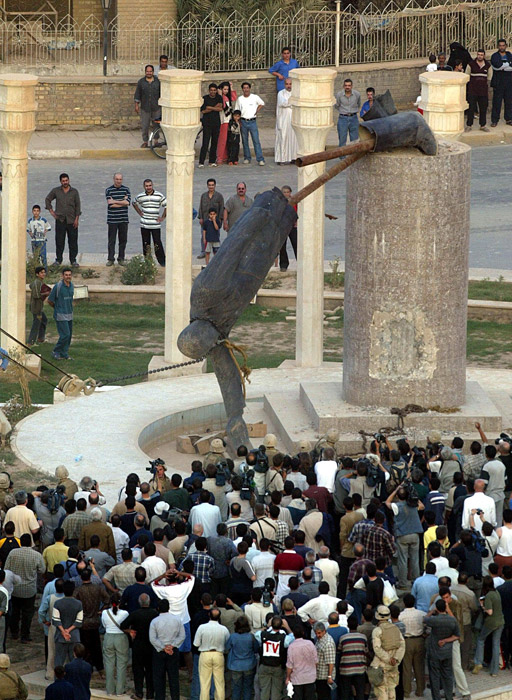 iraq-saddam-statue