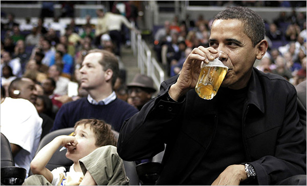 obama-beer-basketball