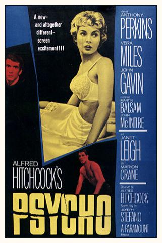 Psycho Poster 1960