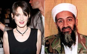 Winona Ryder and Osama bin Laden