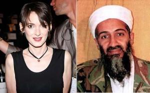 Winona Ryder and Osama bin Laden