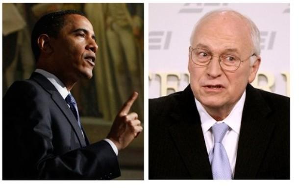 Spin Meter Obama Cheney