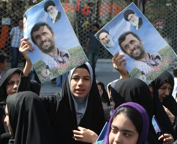 IRAN-POLITICS-AHMADINEJAD