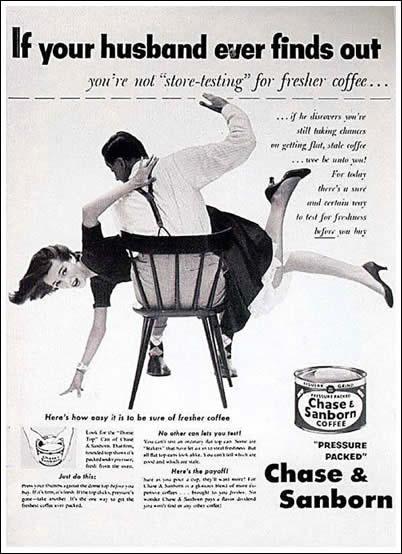 Coffee Spanking Ad