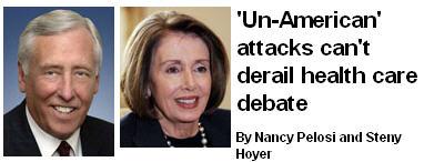 Pelosi Hoyer Un-American