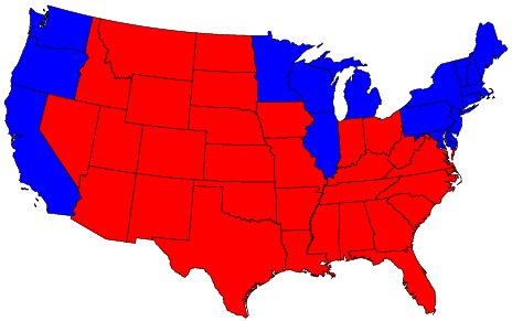 2004 election state by state