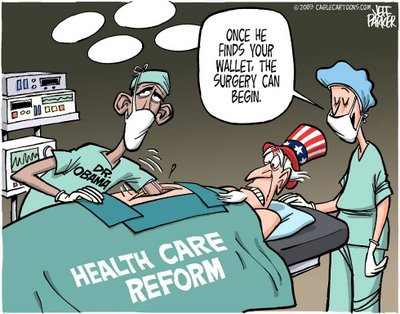 Obama Health Plan Cartoon Jeff Parker