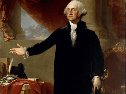 george washington gilbert stuart painting