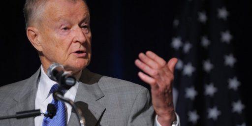 Brzezinski Supports, Slams Obama Missile Call