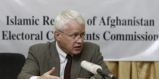 Afghanistan Run-off Ordered