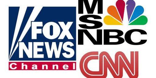 CNN in Last Place - Behind MSNBC Reruns!