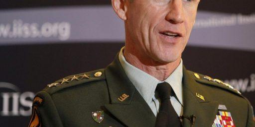 McChrystal and MacArthur