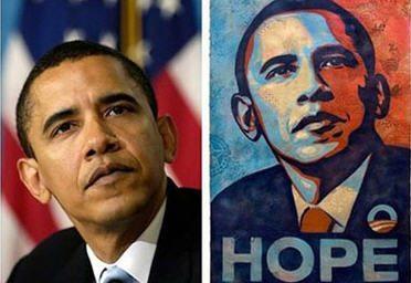 Fairey Admits Obama Hope Poster Based on AP Photo