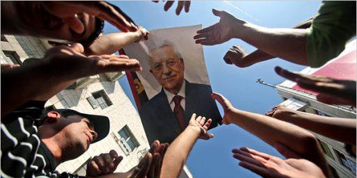 Abbas: Palestinian Authority May Disband