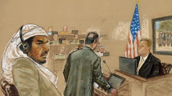 hamdan-military-tribunal-sketch