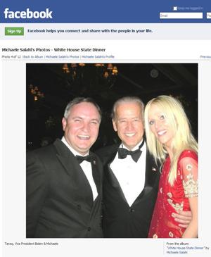 White House Party Crashers Michaele Salahi Facebook