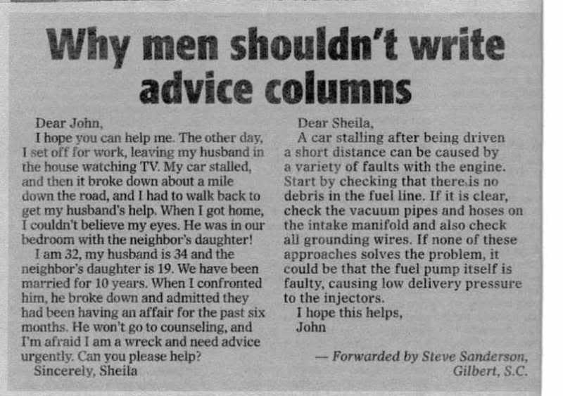 should men be house husbands essay Women today need a clear understanding of how they should relate to their husbands to be some of the primary needs most men 2002 by familylife.