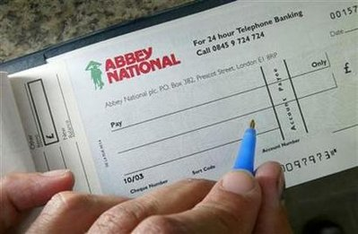 Britain Cheques
