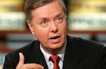 Lindsey Graham Meet the Press Photo