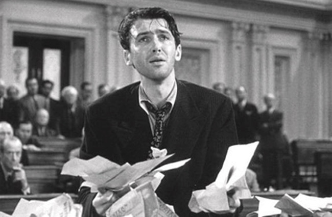 Filibuster Mr. Smith Goes to Washington Jimmy Stewart