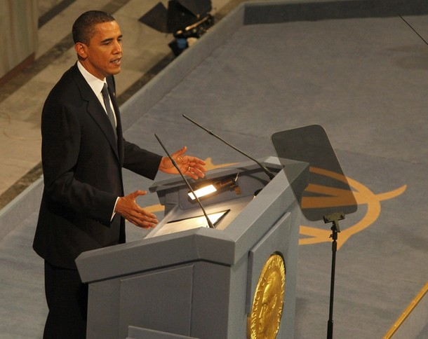 Obama Nobel Speech