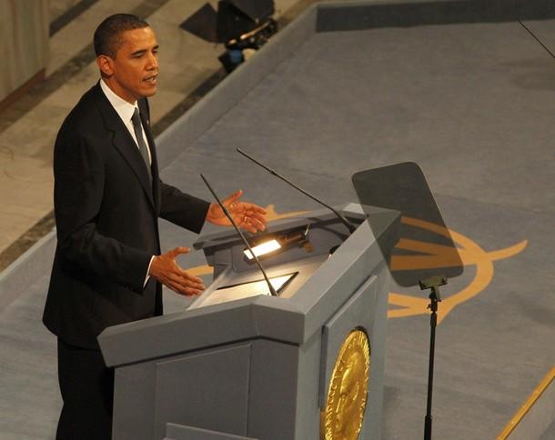 Obama Nobel Speech