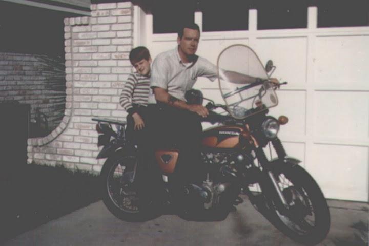 James Joyner and James Joyner Jr Circa 1974
