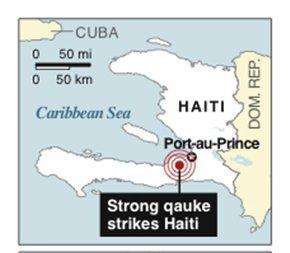 Haiti EQ Map