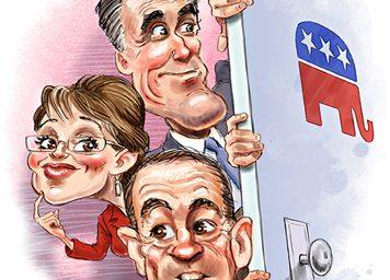 Huckabee Leads Obama