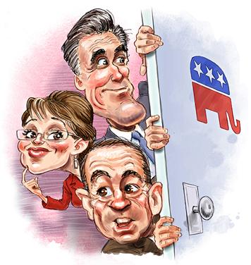 huckabee-romney-palin-cartoon