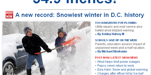 DC Breaks Snow Record -  54.9 Inches