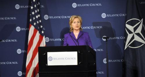 Hillary Clinton NATO Speech Atlantic Council