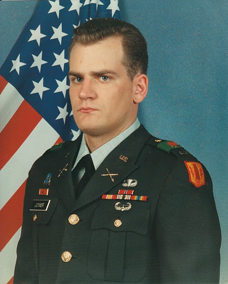 This is me as a 2nd Lieutenant, taken well after our return to Babenhausen, Germany from Operation Desert Storm in April 1991.  It was several months before the ceremony awarding our Bronze Stars, even though they were dated April 29.