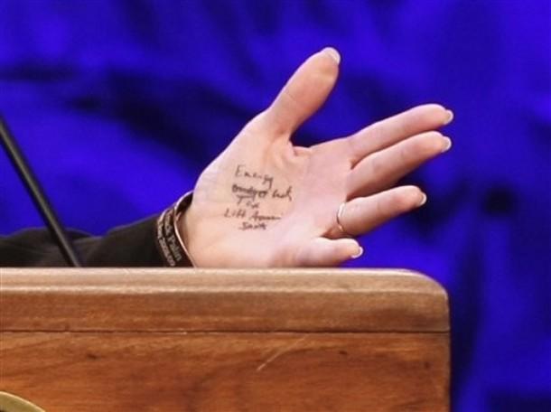 Sarah Palin Track Palin Wristband
