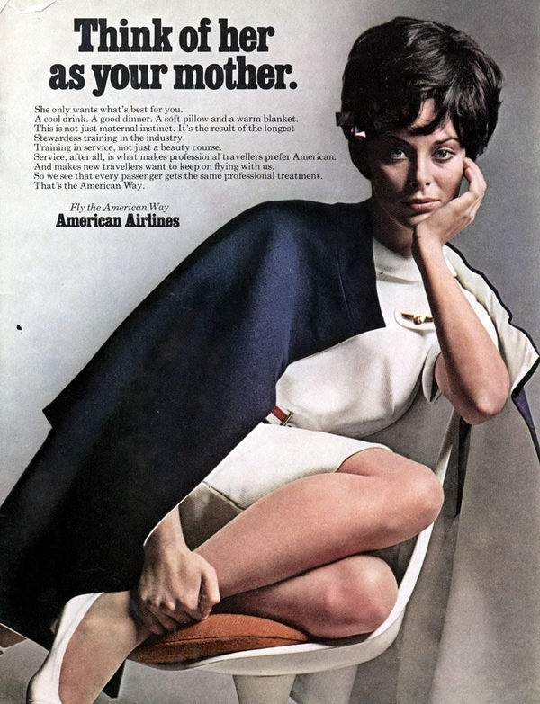 American Airlines Think of Her as Your Mother