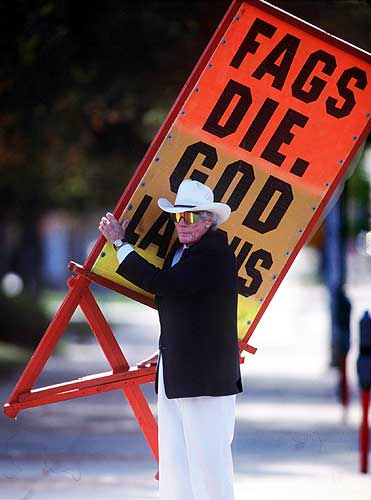 Fred Phelps God Hates Fags