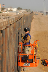 Border Fence reinforcement