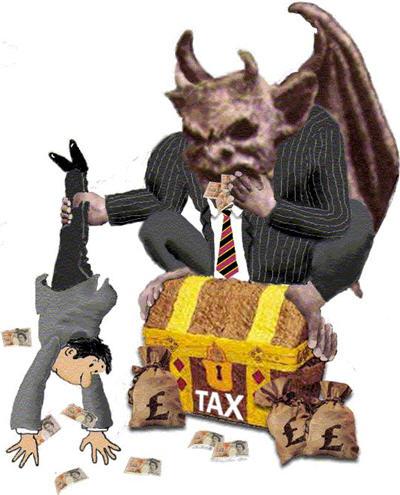 tax-shakedown-devil