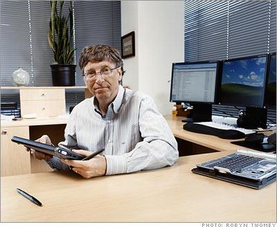 Bill-Gates-Work