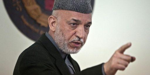 Hamid Karzai Continues To Demagogue The Florida Koran Burning