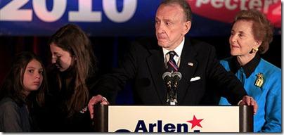Arlen Specter Loses Primary