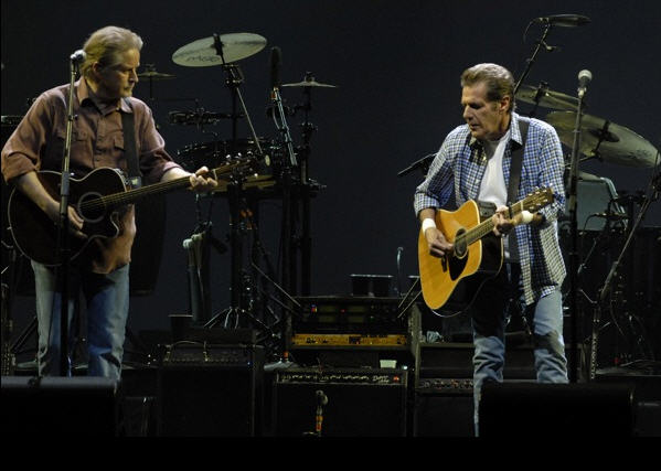 Don Henley and Glenn Frey of the Eagles, San Jose, CA 30 April 2010